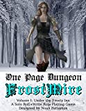 One Page Dungeon: Frostmire: Under the Frosty Inn