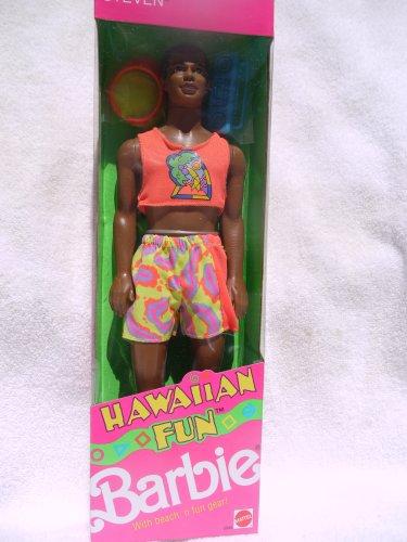 Barbie Hawaiian Fun Steven with Visor, Disc and Boom Box (1990
