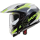Caberg x-Trace Spark Motorrad Helm, White Anthracite Yellow Fluo