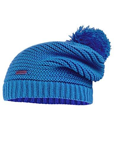maximo Mädchen 53573-727500 Mütze, Blau (meeresblau 44), 55/57 cm