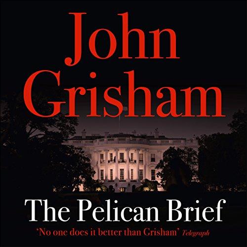 The Pelican Brief audiobook cover art
