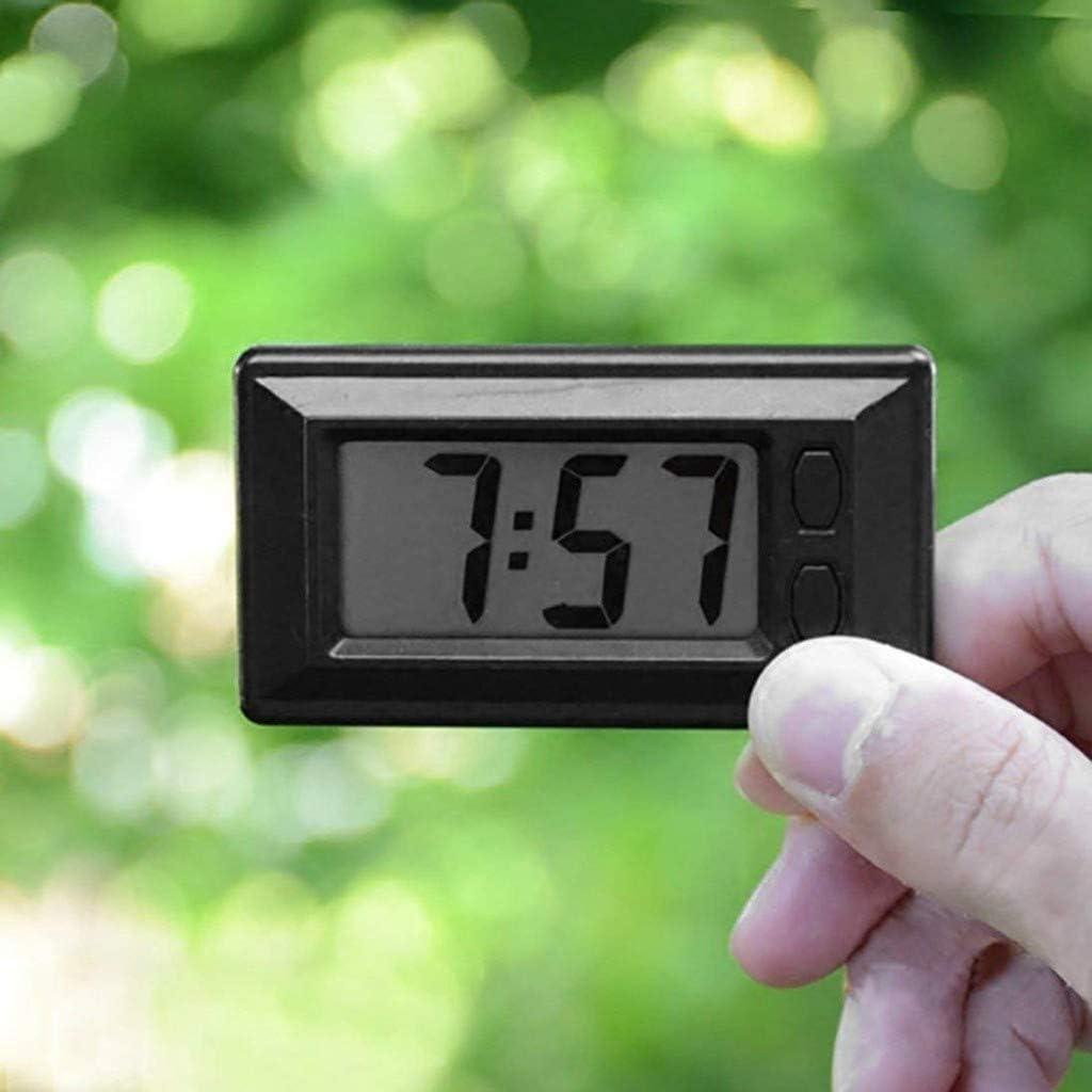Mini Auto Uhr Ultra Thin Lcd Armaturenbrett Elektronische Uhr Datum Mit Kalender Anzeige Car Elektronische Digitaluhr Elektro Großgeräte