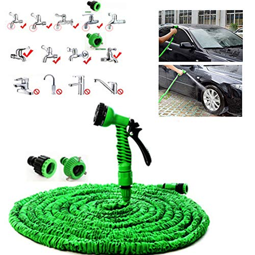 ThangZHIYUA tuinslang, waterslang met hoge druk, flexibele tuinslang, lekvrij en duurzaam.