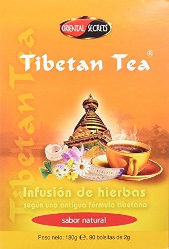 Tibetan Tea Infusión de Hierbas Natural - 90 bolsitas