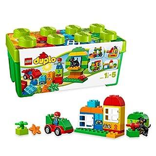 LEGO10572DUPLOMyFirstAllinOneBoxofFun,LargeBricksPreschoolBuildingSetwithStorage,ToysforKidsAge1,5-5 (B00F3B2TVO) | Amazon price tracker / tracking, Amazon price history charts, Amazon price watches, Amazon price drop alerts