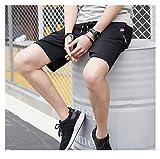 Zoom IMG-1 huating pantaloncini neri uomo corti