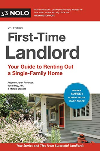 Real Estate Investing Books! - First-Time Landlord: Your Guide to Renting out a Single-Family Home
