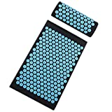 Best Acupressure Mats - TOPNEW Acupressure Mat and Pillow Set, Back Review