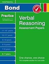 Bond Verbal Reasoning Assessment Papers 6-7 years by Bond, J M (2007) Paperback