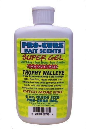 Pro-Cure Trophy Walleye Super Save money Gel Ounce 8 G8-WAL Multi shopping