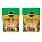 POTTING MIX CACTUS 8 QT 2 bags