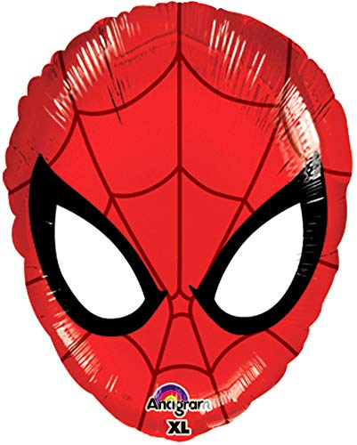 Fantastic Floatables Anti-Gravity Hovering Flying Floating SPIDERMAN HEAD 17 inch Toy Pet Balloon Party Favor