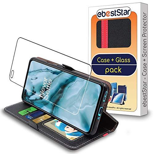 ebestStar - Funda Compatible con OnePlus Nord Carcasa Cartera Cuero PU, Funda...