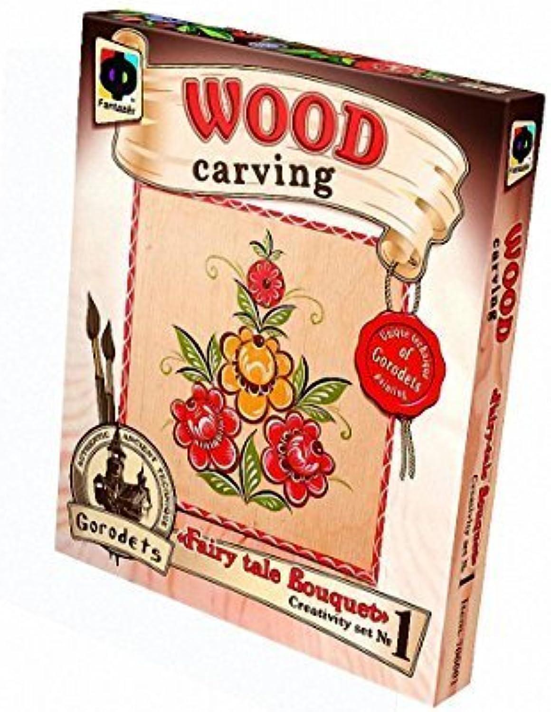 Fantazer Wood Carving Fairytale Bouquet by Fantazer