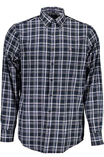GANT Herren Nordic Multi Plaid Shirt Freizeithemd, Grün (Ivy Green), Medium