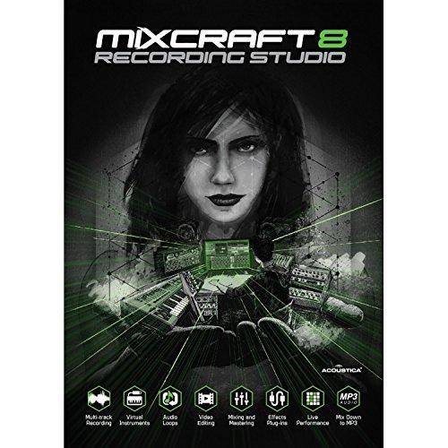Acoustica Mixcraft 8 - Mehrspur-Aufnahme-Software