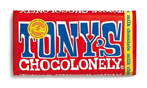 Tony's Chocolonely Fairtrade Milk Chocolate Bar 180 g UKBM180