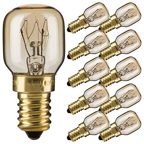 10 x baklamp 300° E14 helder gloeilamp gloeilamp magnetron zoutsteen lamp PYGMY Mini
