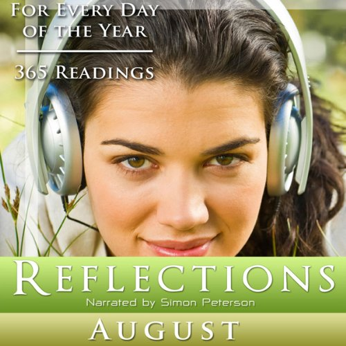 Reflections: August audiobook cover art