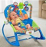 WY-Tong silla bebe Silla mecedora de bebé, bebé eléctrico multifuncional silla mecedora ligera calmante niños mecedora rocking mecedora CH Aire hacen pivotar la cama