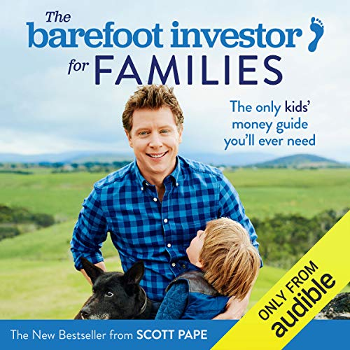 The Barefoot Investor for Families audiobook cover art