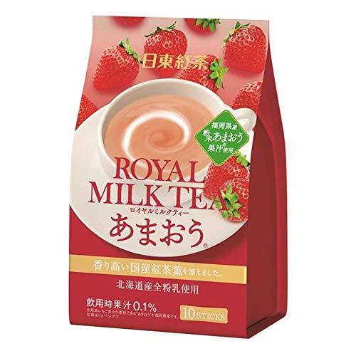 日東紅茶 ロイヤルミルクティー あまおう 14g×10本入