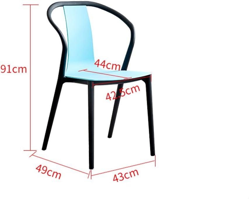 SLL- Chaise Minimaliste Moderne Chaise créative Chaise d'ordinateur Moderne (Color : C) E