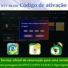 $80 » BRTV Brazil Brazilian TV Box Renew Code,Activation Code for A2 A3 HTV3 HTV5 IPTV 5/6/8 Tigre tigre2 Subscription 16-Digit Renew Code,One Year Subscription Service,TV Box Brazil Code
