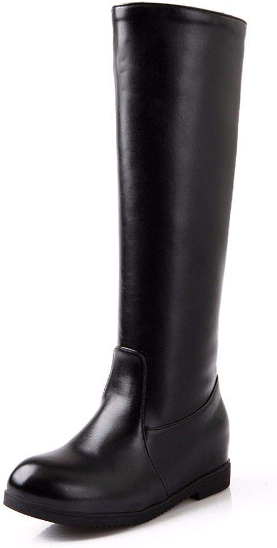 AIKAKA Frauen Herbst und Winter Europa Europa Europa und Amerika Sexy warme hohe Stiefel Schuhe  8d9cd5