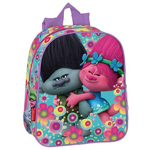 Troll Cooper - Kindergarten-Rucksack 28x24x10cm Poppy und Ramon