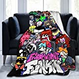 Anime Blanket Cartoon Blanket Throw Blanket for Kids Flannel Anime Throws Ultra Soft Bedspread Microfiber Blankets Durable Home Decor Perfect for Bed Sofa Couch Chair 50'X40'