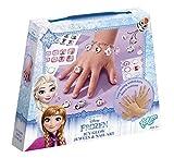 Totum de Disney Frozen/la Reina de Hielo/Manualidades de Juego: Joyas Manualidades + Pegatinas de Uñas