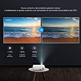 Zoom IMG-2 yaber proiettore wifi 6000 lumens