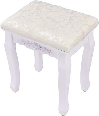 Amazon.com: Taburetes – Piña Taburete tapizado – Vanidad ...