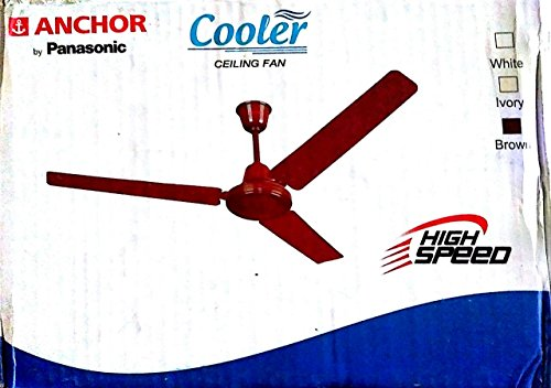 Anchor 1200mm Ceiling Fan (Brown)