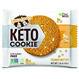 PEANUT BUTTER KETO COOKIE:A tasty cookie with low net carbs and packed with plant-based protein to keep your macros on track. Finally, you can finish a whole box of cookies without feeling guilty! DELICIOUS: Chock-full of roasted peanuts & creamy pe...