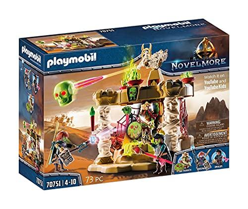 PLAYMOBIL Novelmore Sal'ahari Sands - Templo del Ejército de Esqueletos, A partir de 4 años (70751)