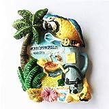 TDCTshop Ciudad de México de Turismo Cancún Cancún, imanes de Nevera 3D de Resina, Hechos a Mano, Recuerdos turísticos, artículos para el hogar de Cocina, decoración Artesanal.