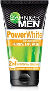 Garnier Men Power White Anti-Dark Cells Fairness Face Wash, 100g