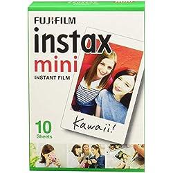 Fujifilm Instax Mini Brillo - Pack de 60 películas fotográficas Instantáneas (6 x10 hojas), color blanco: Amazon.es: Electrónica