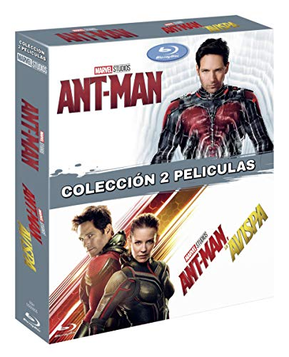 Pack: Ant Man 1 + Ant Man 2 [Blu-ray]