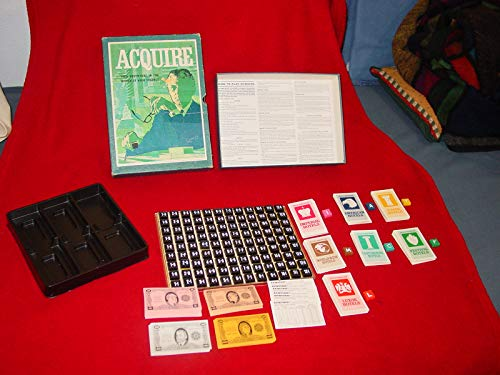 Vintage 1968 ACQUIRE Game By 3m Company