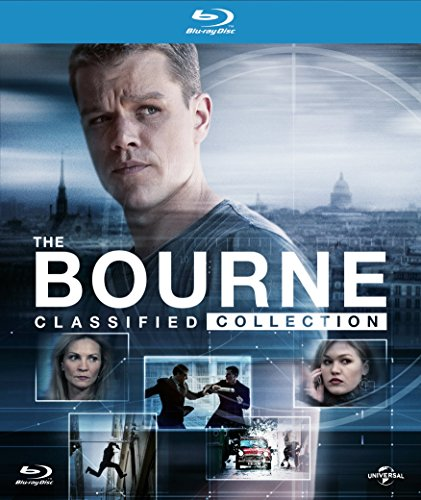 The Bourne Classified Collection (Digibook) [Blu-ray] [2016] UK-Import, Sprache-Englisch.