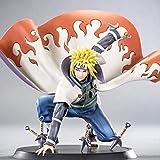 Ylout Anime Naruto Shippuden Yondaime Hokage Namikaze Minato Figura PVC Figura De Acción Colección M...