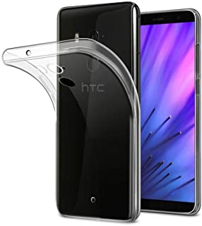 For HTC U11 Plus U11+ Clear Slim Soft TPU Back Cover Skin Case bY muzz