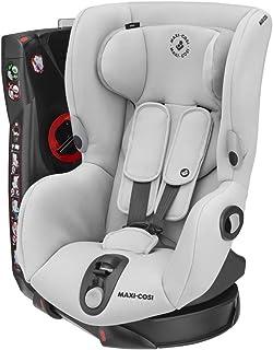 Maxi-Cosi Axiss Kindersitz, 180° drehbarer Gruppe 1 Autositz 9-18 kg, nutzbar ab ca. 9 Monate bis ca. 4 Jahre, Authentic grey
