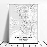 Kunstdrucke Leinwand Bremerhaven Deutschland