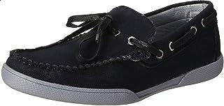 Salerno Side Eyelets Front Lace Slip-on Shoes for Men