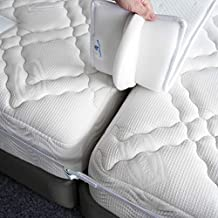 FeelAtHome Bed Bridge Twin to King Converter Kit - Twin Bed Connector King Maker - Bed Gap Filler to Make Twin Beds Into King - Mattress Connector with Strap for Guests Stayovers