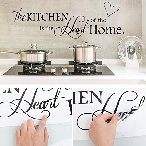 Wall Stickers, Quote Wall Stickers for Kitchen, Wall Decals for Home, Kitchen Art Decorations Vinyl Home Décor ('The Kitchen')